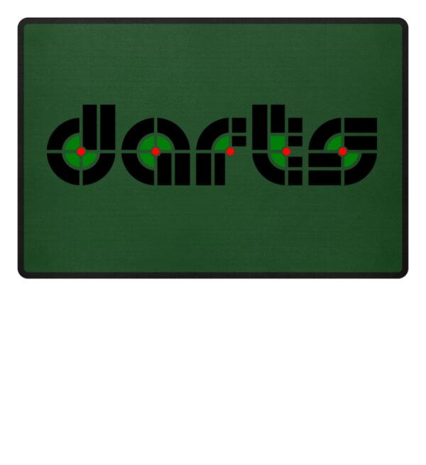 Retro Darts - Fußmatte-833