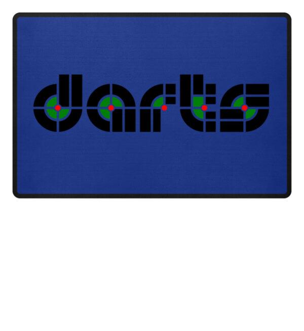 Retro Darts - Fußmatte-27