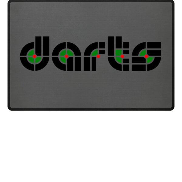 Retro Darts - Fußmatte-6778
