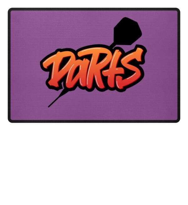 Grafitti Darts - Fußmatte-31