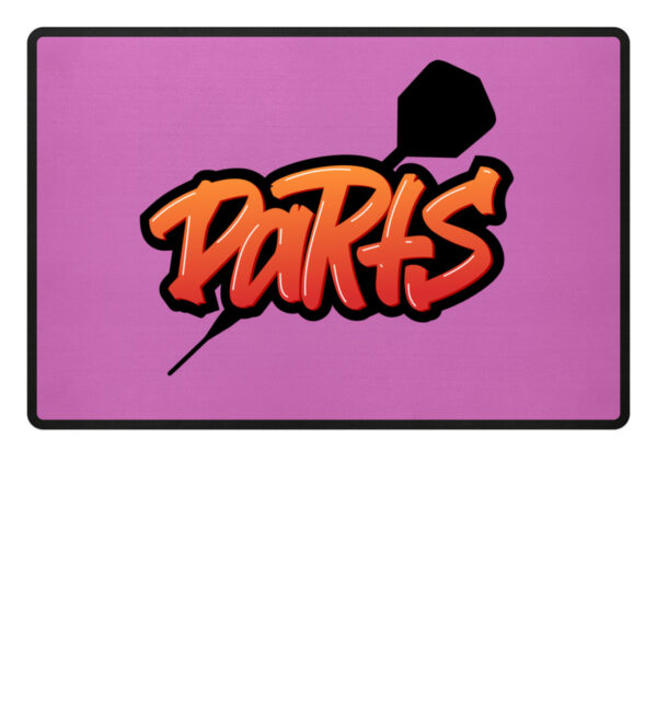 Grafitti Darts - Fußmatte-5759