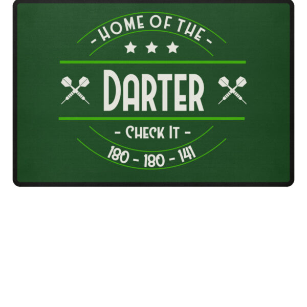 Home of the Darter - Grey - Fußmatte-833